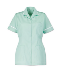 D313 Alexandra Ladies Healthcare Tunic (Sizes 80cm - 148cm = 6 - 34)